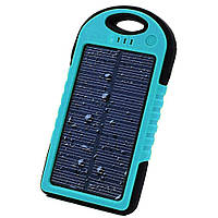 Power Bank Solar 45000 mAh на солнечной батареи Синий