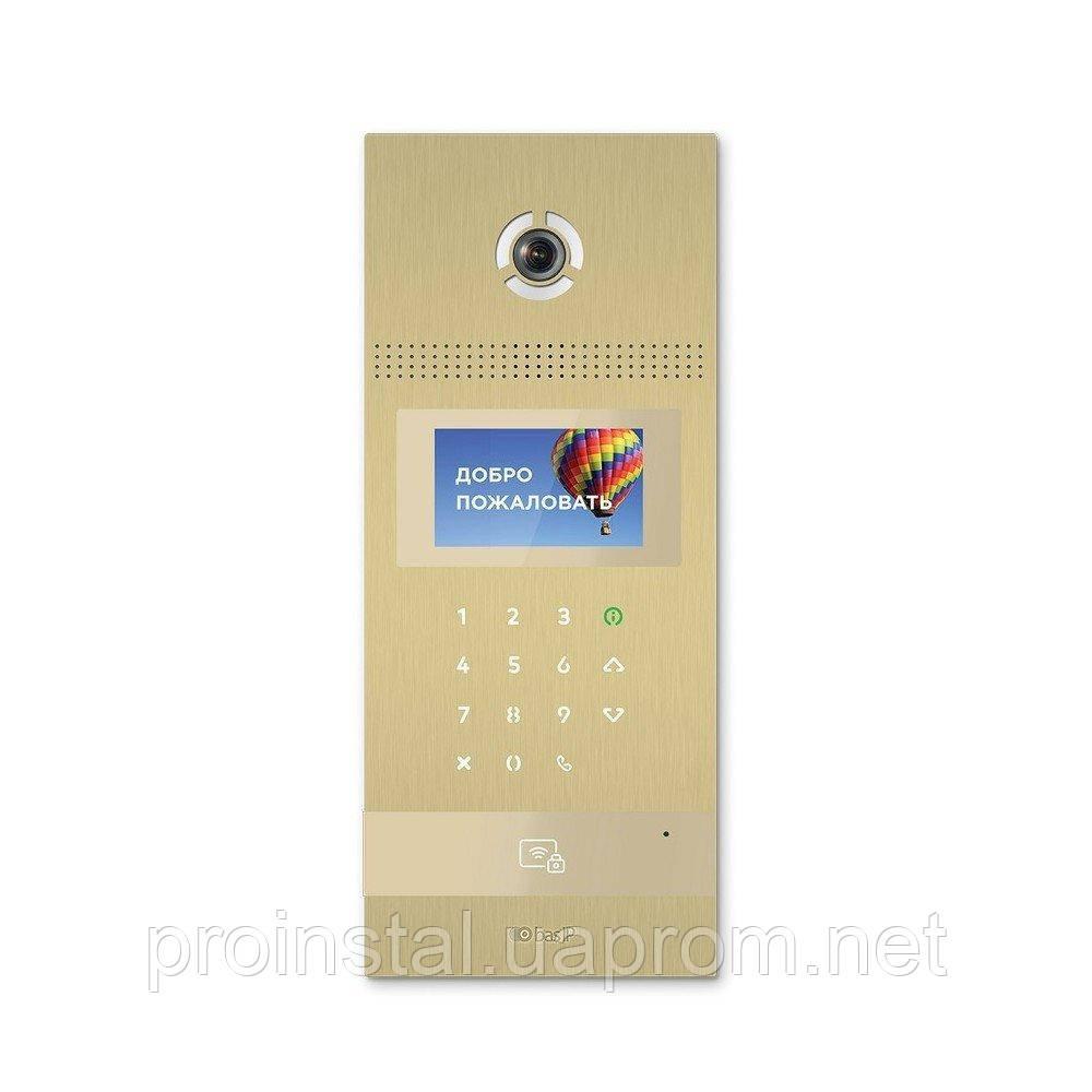 Многоабонентская вызывная панель Bas-IP AA-12B GOLD
