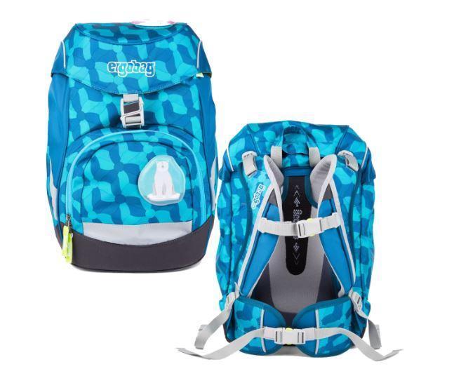 Школьный рюкзак для мальчиков Ergobag Prime Ice GlamBear
