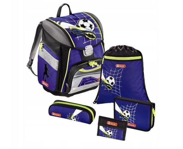 Школьный рюкзак для мальчиков HAMA Step By Step SOCCER + 2 пенала + сумка для спортивной обуви