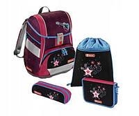 Школьный рюкзак для девочек Hama Step By Step Popstar + 2 пенала + сумка для спортивной обуви