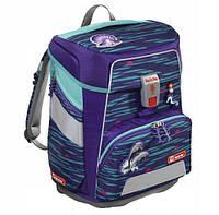 Школьный рюкзак для мальчиков HAMA Step By Step Дельфин + 2 пенала + сумка для спортивной обуви