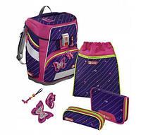 Школьный рюкзак для мальчиков HAMA Step By Step Бабочка + 2 пенала + сумка для спортивной обуви