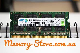 Оперативная память для ноутбука Samsung DDR3 4GB PC3-12800S 1600MHz SODIMM (б/у)