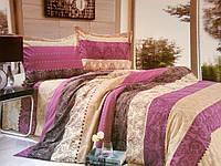 Комплект постельного белья Евро размер Коттон-Пододеяльник 200х225; Простынь 220х225; Наволочки 2*70х70