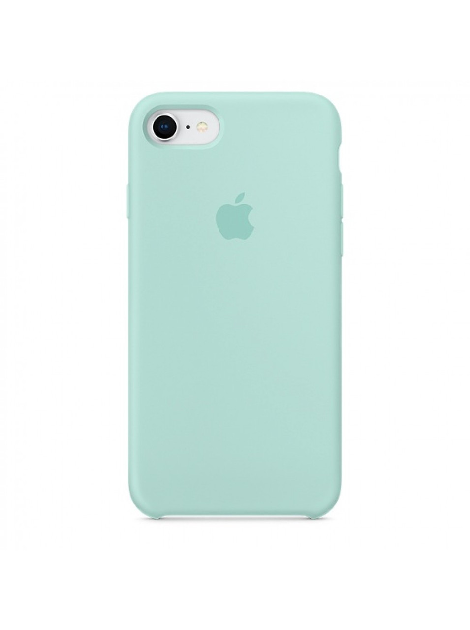Чехол накладка silicone case для iphone 6s+ - marine green