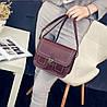 Женская сумка почтальон-сундучок на защелке, фото 4