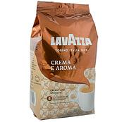 Оригинал! Кофе зерновой Lavazza Crema e Aroma 1кг Коричневая Италия