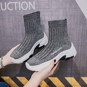 жіночі кросівки шкарпетки, фото 2