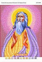 Схема для вышивания бисером - Св. Пророк Илья