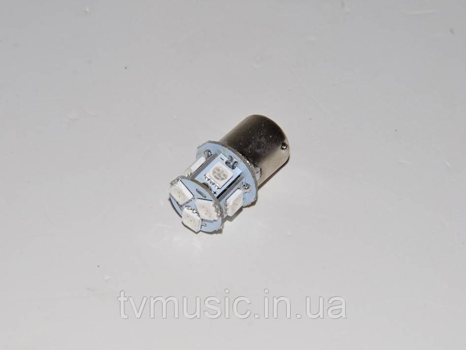 Светодиодная лампочка LED T25 5050-8SMD (1156) WHITE / RED