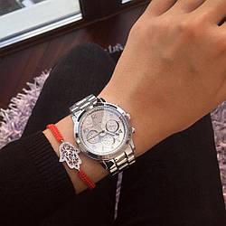 Женские серебряные часы Michael Kors Silver, жіночий годинник Майкл Корс