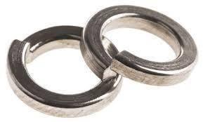 Шайба нержавеющая пружинная Ф3,5 DIN 7980 сталь А2