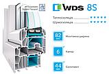 Металопластикові вікна WDS, фото 2