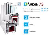 Металопластикові вікна WDS, фото 3