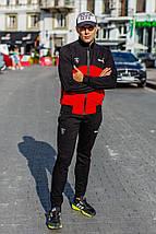 """Мужской трикотажный спортивный костюм """"РUМA"""" с карманами (2 цвета), фото 3"""