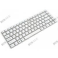 Клавиатура для ноутбука Sony VGN-NW Series RU, White, Without Frame (148738711)
