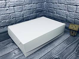 *10 шт* / Коробка для 12-ти кексов / 340х250х90 мм / Белая / б.о.