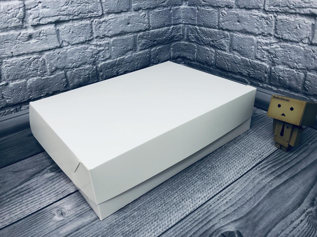 *10 шт* / Коробка для 12-ти кексов / 340х250х90 мм / Молочн / б.о.
