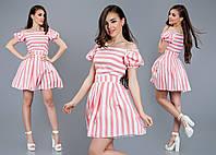 Платье с подъюбником из фатина в 3-х расцветках