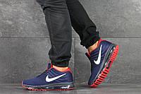 Кроссовки Nike Air Max 2017 мужские, темно-синие, в стиле Найк Аир Макс, текстиль, код SD-8178