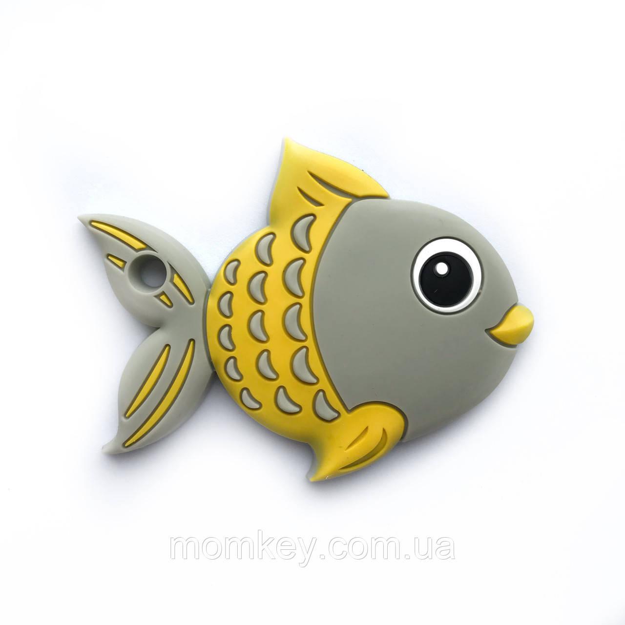 Рыбка золотая (серая)