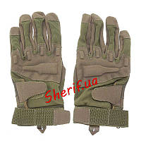 Перчатки тактические полно-палые Blackhawk Ful Finger Olive (размер L)