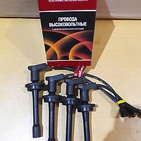 Провода высоковольтные  (с наконечником) для автомобилей Волга,Газель,Соболь (с ДВС 405.406.409)