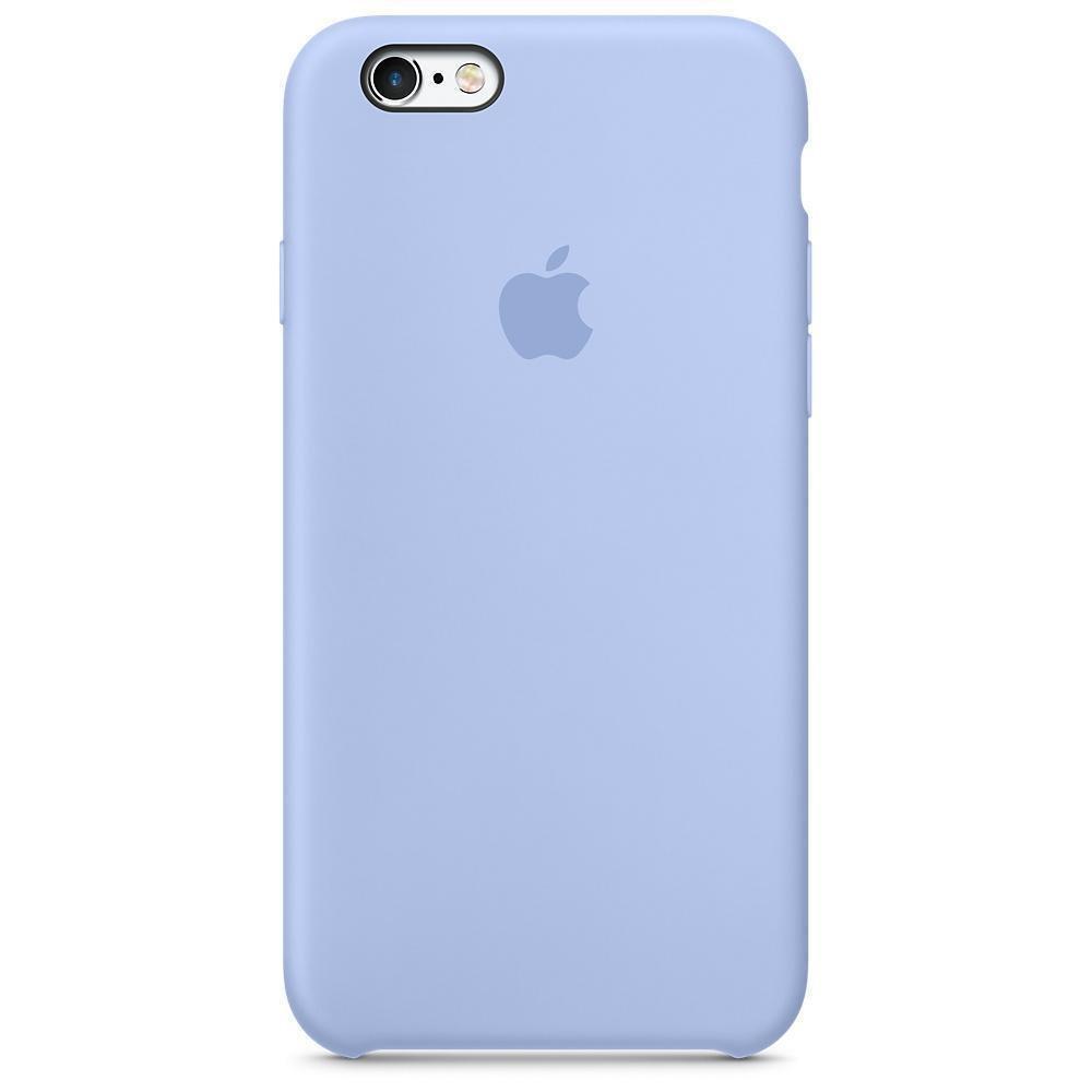 Чехол накладка silicone case для iphone 6s+ - lilac
