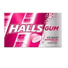 Halls Gum Жвачка Halls Gum Watermelon Rush Оригинал Германия