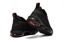 """Кроссовки Nike LeBron XVI 16 XDR """"Черные\Красные"""", фото 3"""