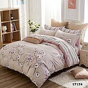 17174 Полуторное постельное белье ранфорс Viluta