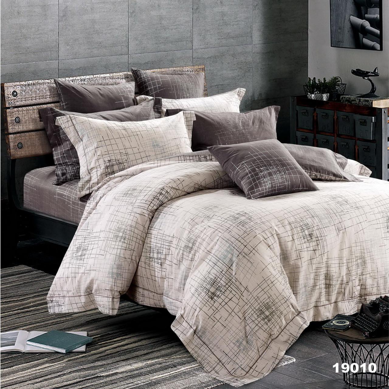19010 Полуторное постельное белье ранфорс Viluta