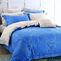 19020 Полуторное постельное белье ранфорс Viluta, фото 2