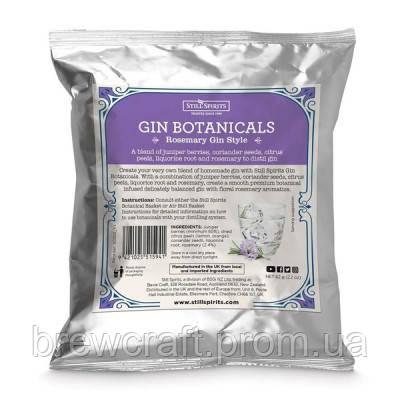 Набор трав и специй для приготовления джина Botanicals Rosemary Gin. 62 грамма