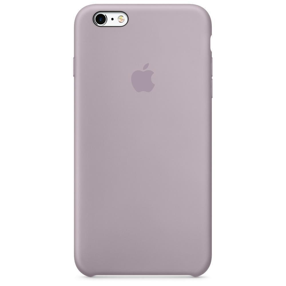 Чехол накладка silicone case для iphone 6/6s - lavender