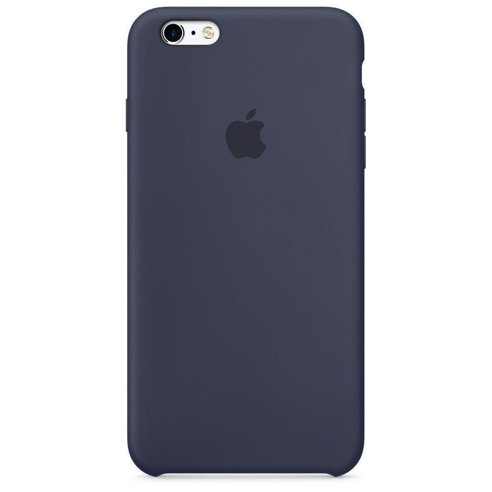 Чехол накладка silicone case для iphone 6/6s/6S+ - midnight blue