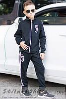 Детский костюм унисекс Клуб черный, фото 1