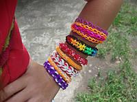 Браслеты из резиночек rainbow loom bands (плетем бесплатно из Ваших расходных материалов)