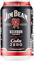 Jim Beam & Cola Zero 330 ml