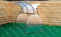 Парник из поликарбоната Метелык 125*400 см, фото 1