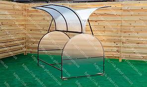 Парник Метелык из поликарбоната 125*400 см