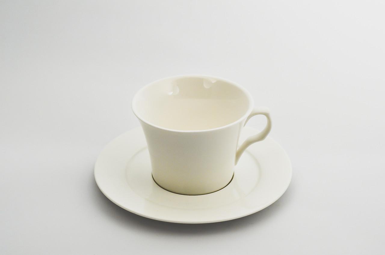 Чашка чайная с блюдцем 200 мл.
