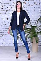Модный женский пиджак,ткань двунить,размеры:44,46,48,50., фото 1