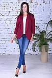 Модный женский пиджак,ткань двунить,размеры:44,46,48,50., фото 2