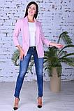 Модный женский пиджак,ткань двунить,размеры:44,46,48,50., фото 3