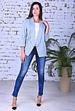 Модный женский пиджак,ткань двунить,размеры:44,46,48,50., фото 4