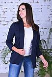Модный женский пиджак,ткань двунить,размеры:44,46,48,50., фото 5