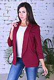 Модный женский пиджак,ткань двунить,размеры:44,46,48,50., фото 6
