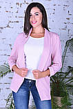 Модный женский пиджак,ткань двунить,размеры:44,46,48,50., фото 7